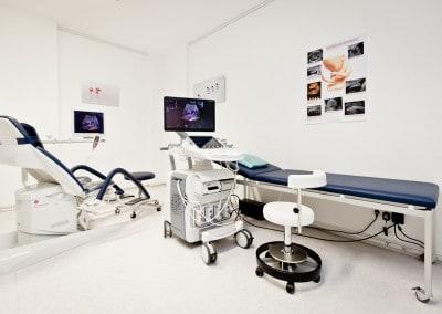 Behandlungsraum Feindiagnostik